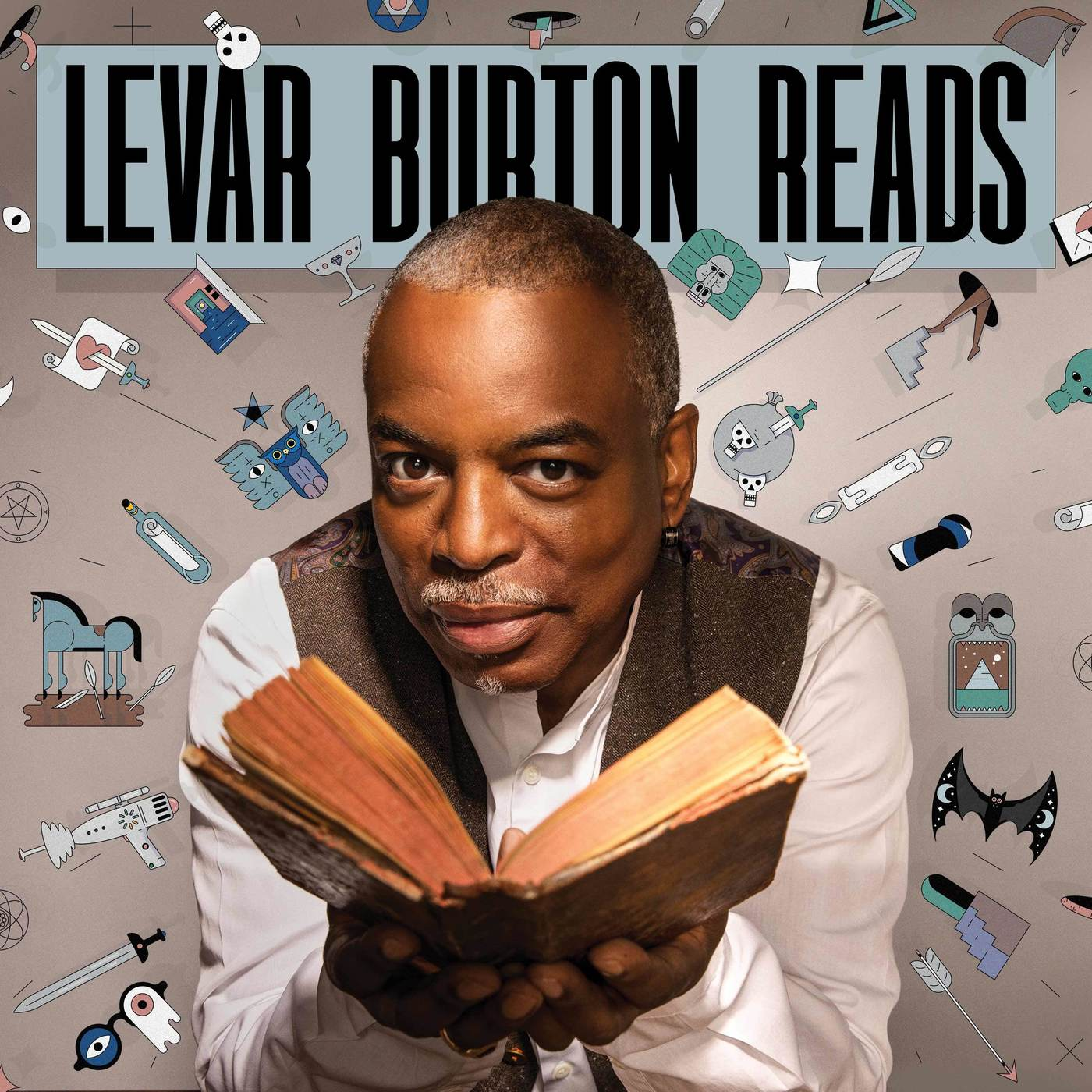 Image result for levar burton reads icon