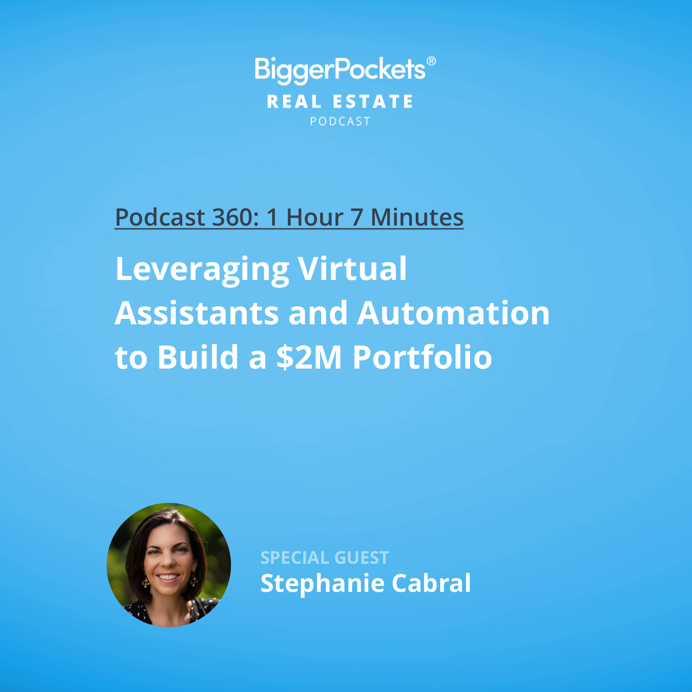 360: Leveraging Virtual Assistants and Automation to Build a $2M Portfolio with Stephanie Cabral