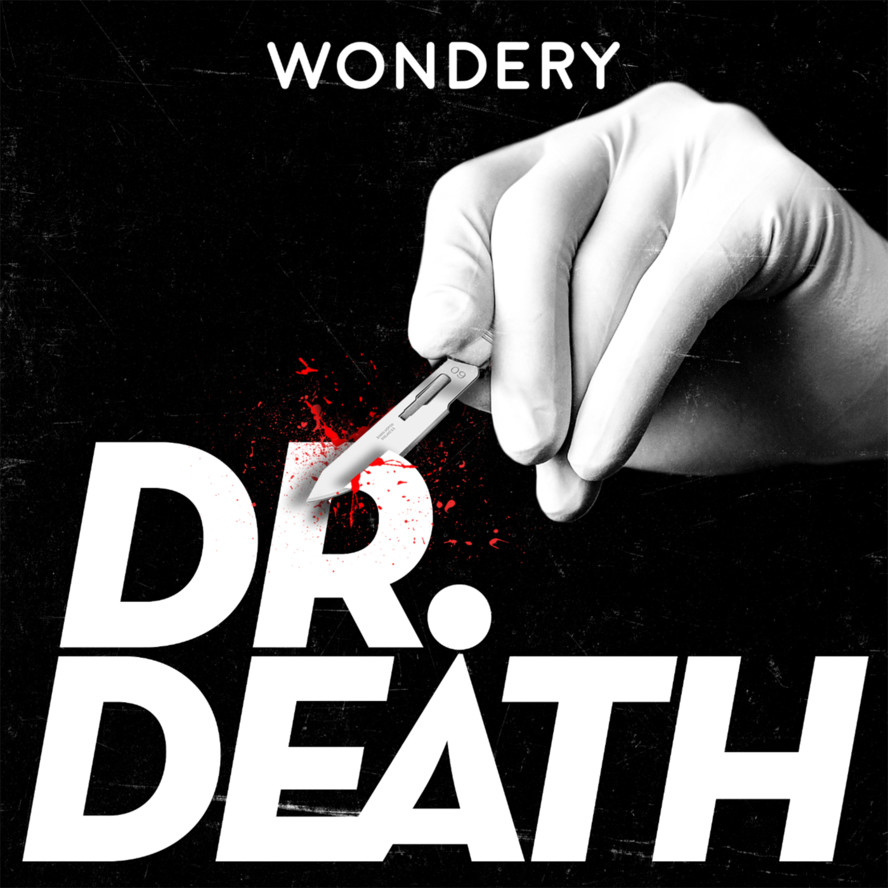 Image result for dr death podcast cover art