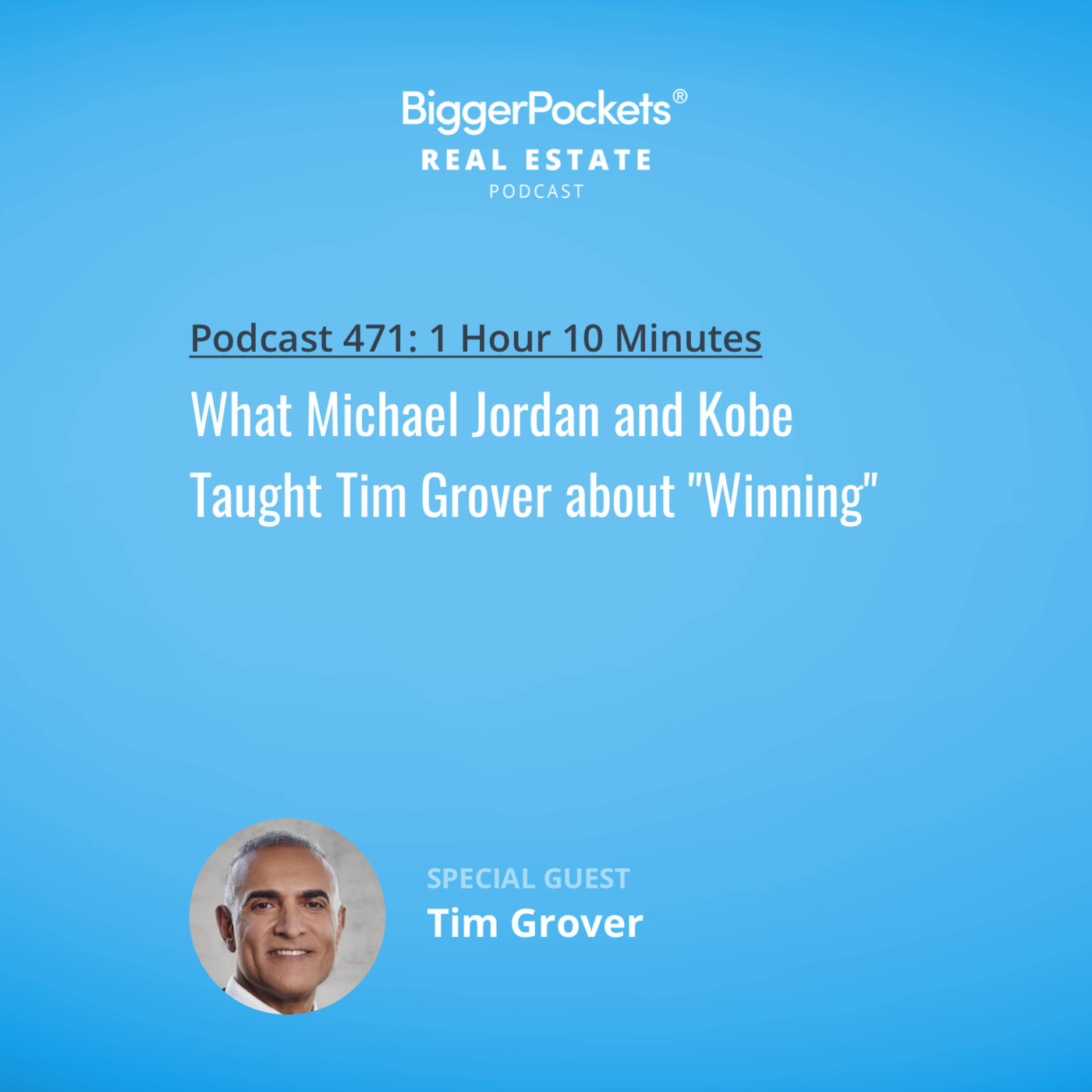 """471: What Michael Jordan and Kobe Taught Tim Grover about """"Winning"""""""