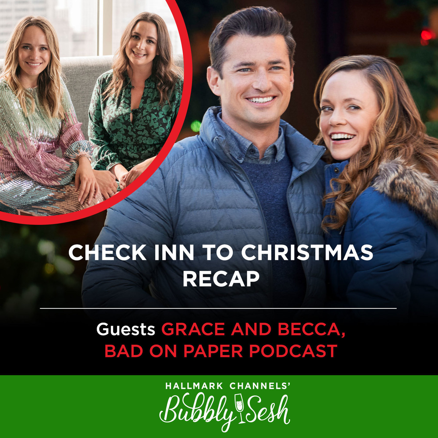 Check Inn to Christmas Recap with Grace and Becca, Bad on Paper