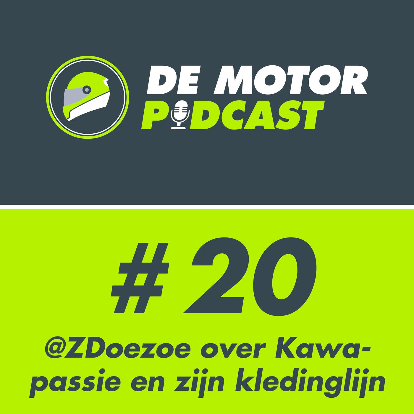 #20 ZDoezoe over Kawasaki passie en zijn motorkledinglijn Image