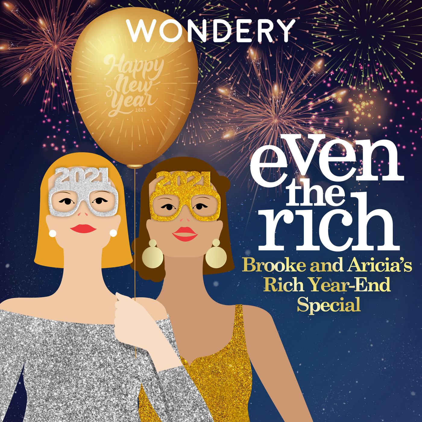 Brooke and Aricia's Big Rich Year-End Special   1