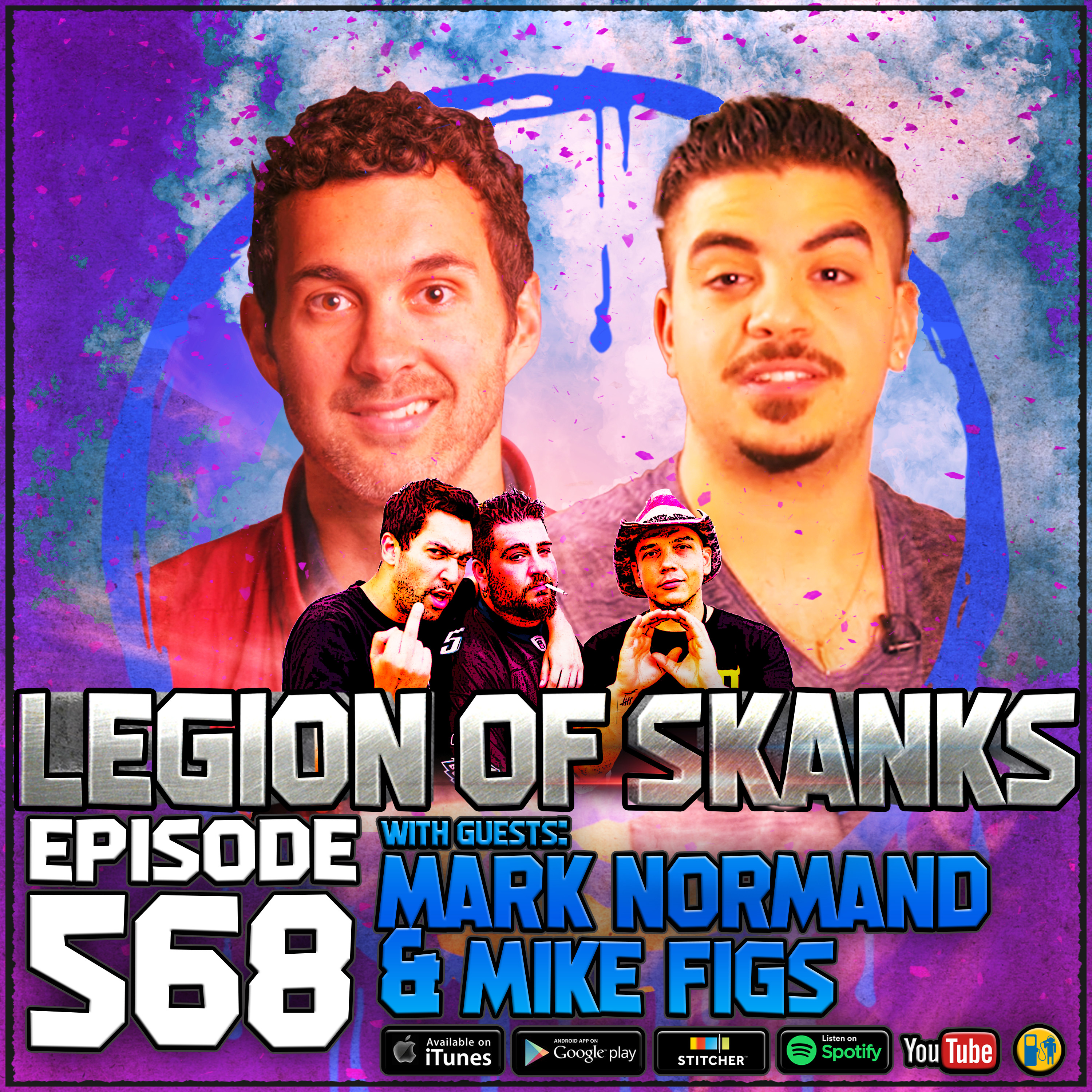 Episode #568 - What's The Deal With Homework? - Mark Normand & Mike Figs