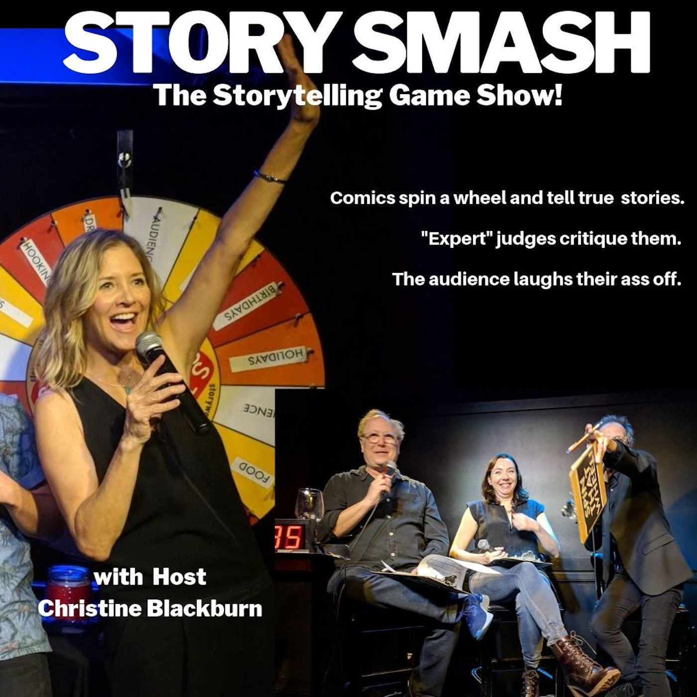 583 - Story Smash the Storytelling Gameshow LIVE at The Hollywood Improv!