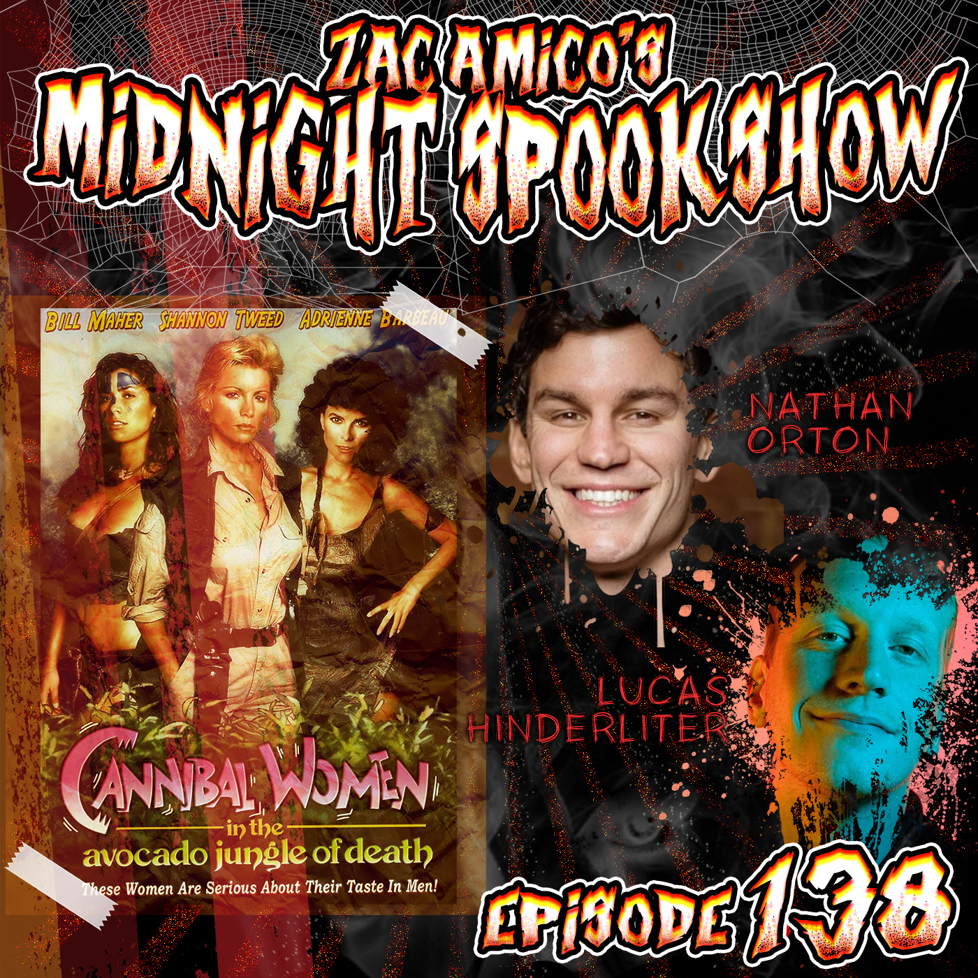 Nathan Orton & Lucas Hinderliter - Cannibal Women in the Avocado Jungle of Death - ZAMSS #138