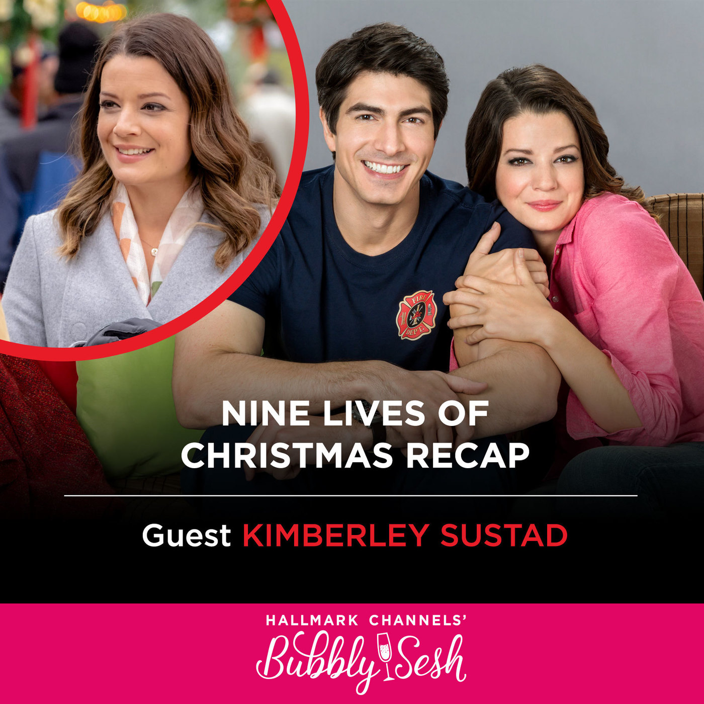 Nine Lives of Christmas Recap with Guest Kimberley Sustad