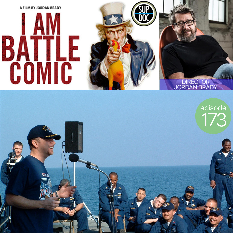 Director Jordan Brady (I AM COMIC, I AM ROAD COMIC, I AM BATTLE COMIC)
