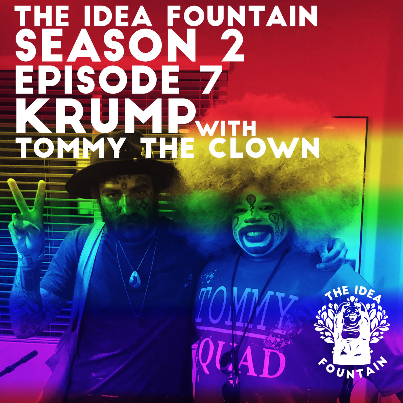 The Idea Fountain S2 Ep 7: Krump with Tommy the Clown