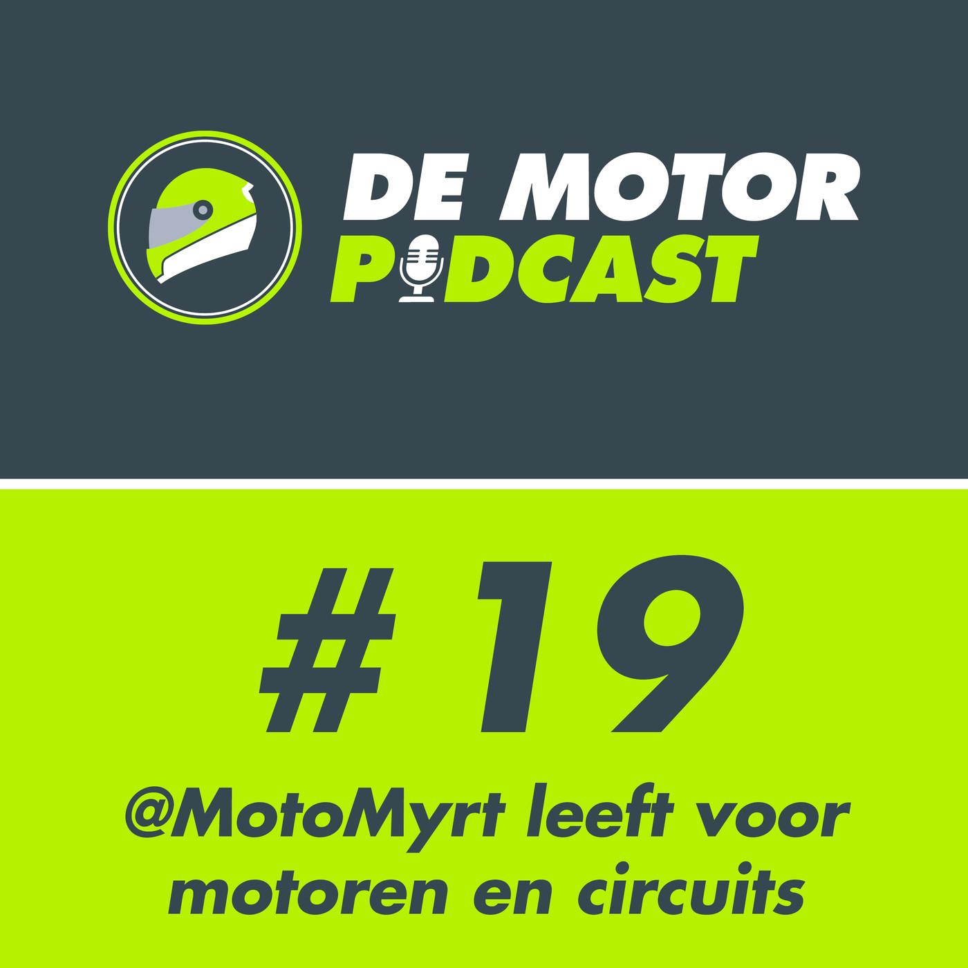 #19 MotoMyrt (Myrte) leeft voor snelle motoren en circuits. Image