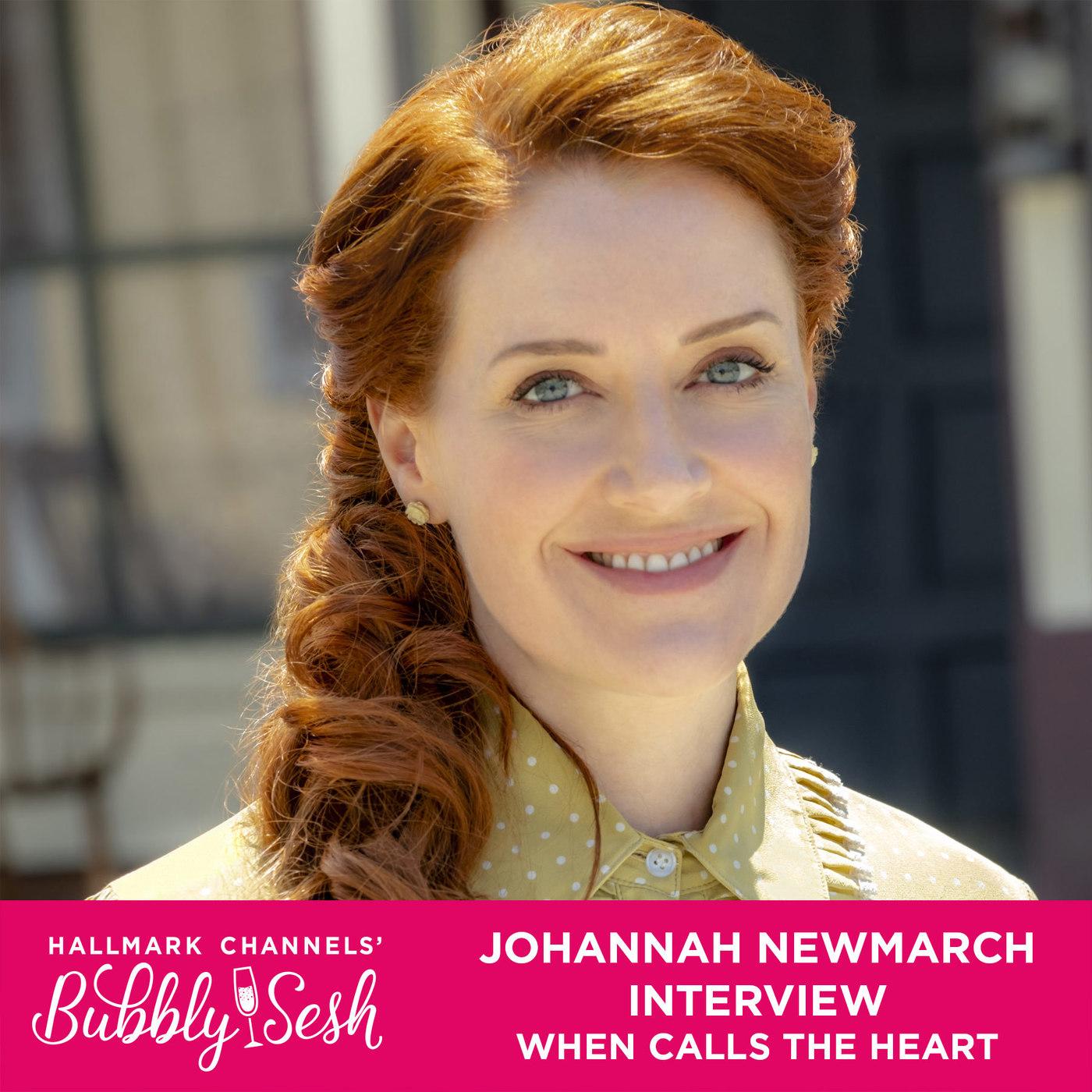Johannah Newmarch Interview, When Calls The Heart