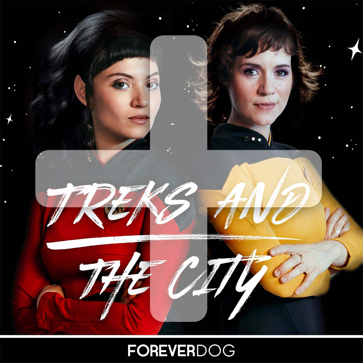 Treks and the City PLUS podcast tile