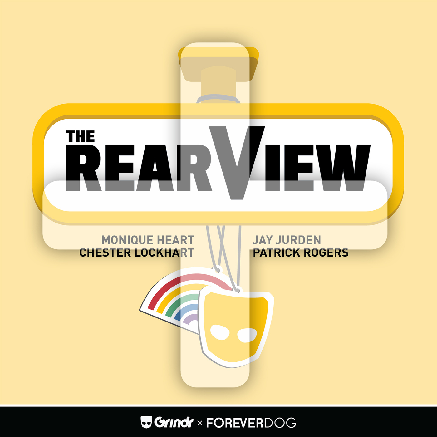 The RearView PLUS podcast tile
