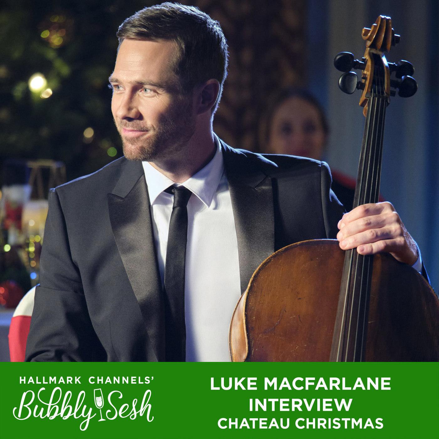 Luke MacFarlane Interview, Chateau Christmas
