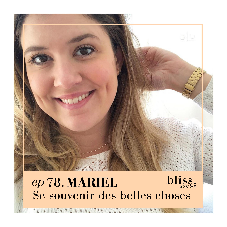 EP78- MARIEL, SE SOUVENIR DES BELLES CHOSES