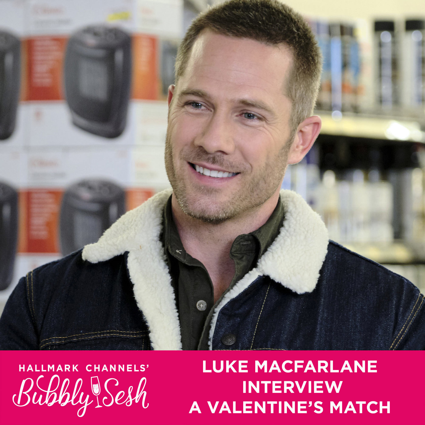 Luke Macfarlane Interview, A Valentine's Match
