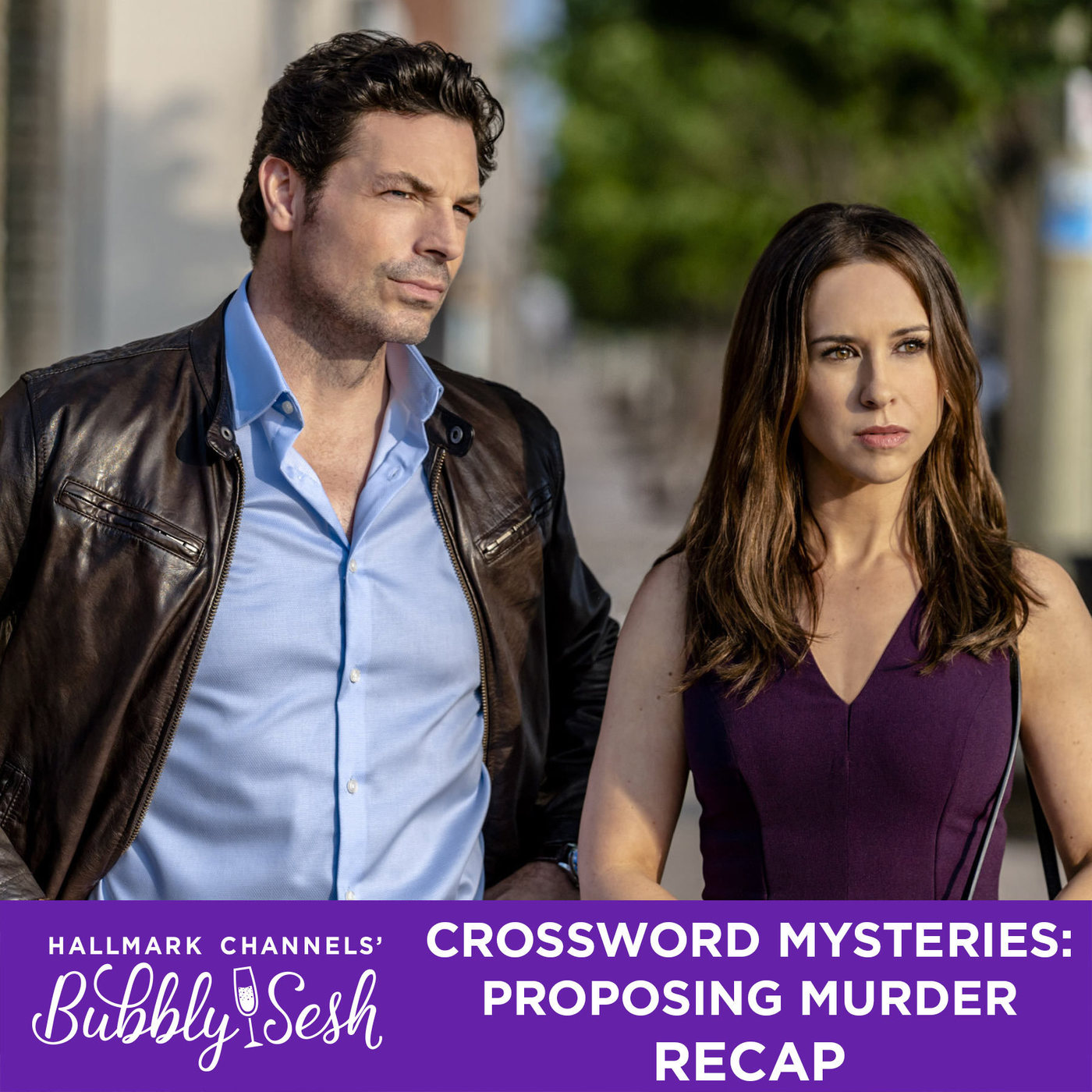 Crossword Mysteries: Proposing Murder Recap
