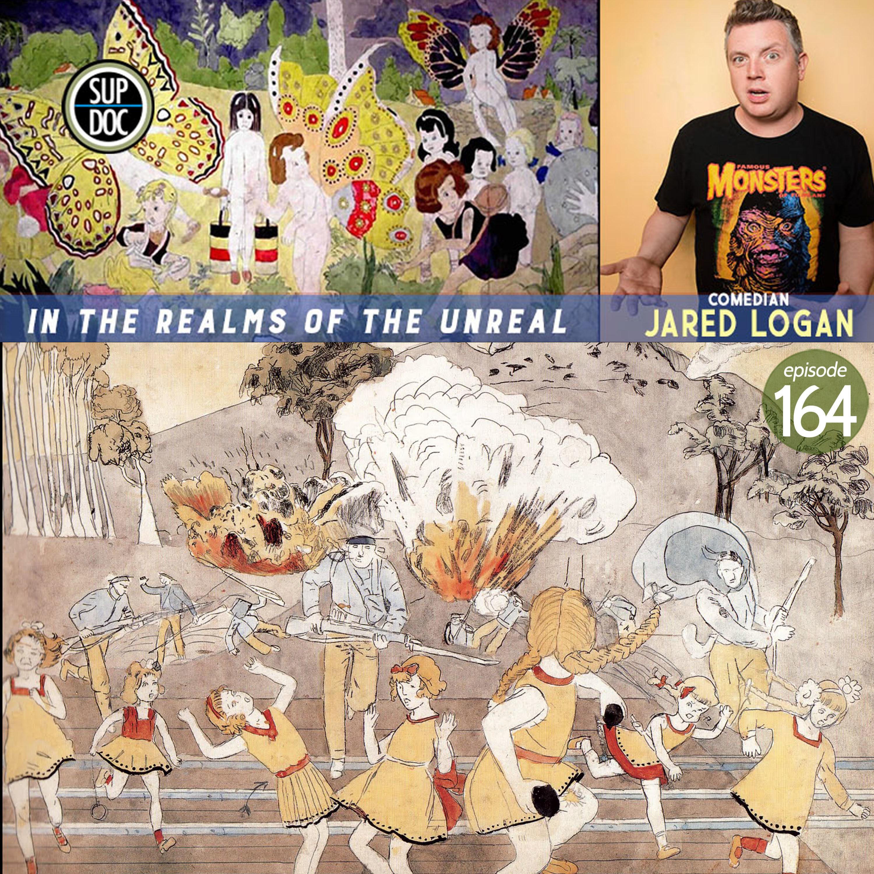 164 – IN THE REALMS OF THE UNREAL w Jared Logan