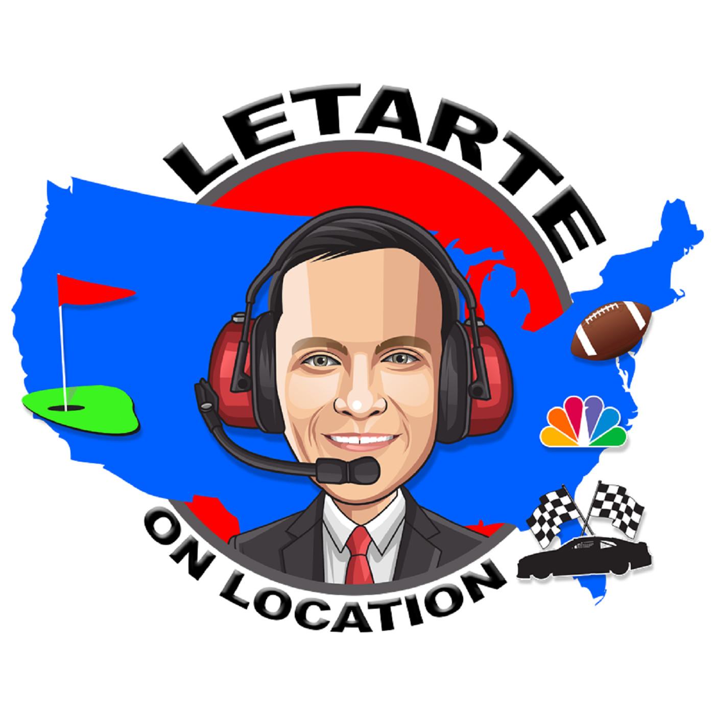 Letarte on Location