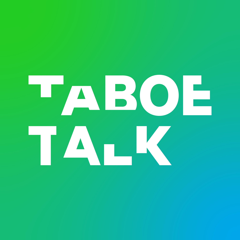 Taboe Talk. Een podcastserie over onbespreekbare onderwerpen. logo