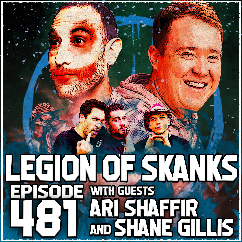 Episode #481 - Voicing Our Opinions - Ari Shaffir & Shane Gillis
