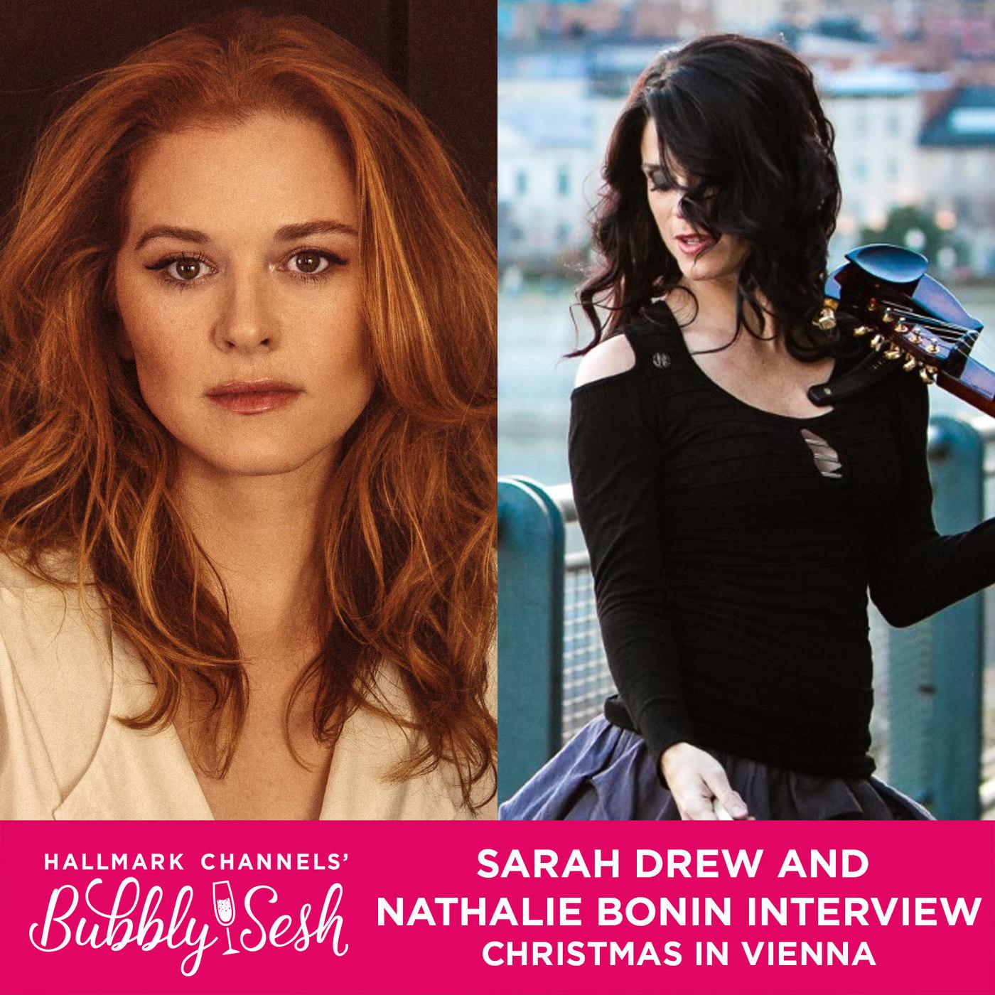 Sarah Drew and Nathalie Bonin Interview, Christmas in Vienna