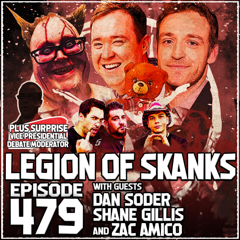 Episode #479 - Bum Fights - Dan Soder, Shane Gillis, & Zac Amico
