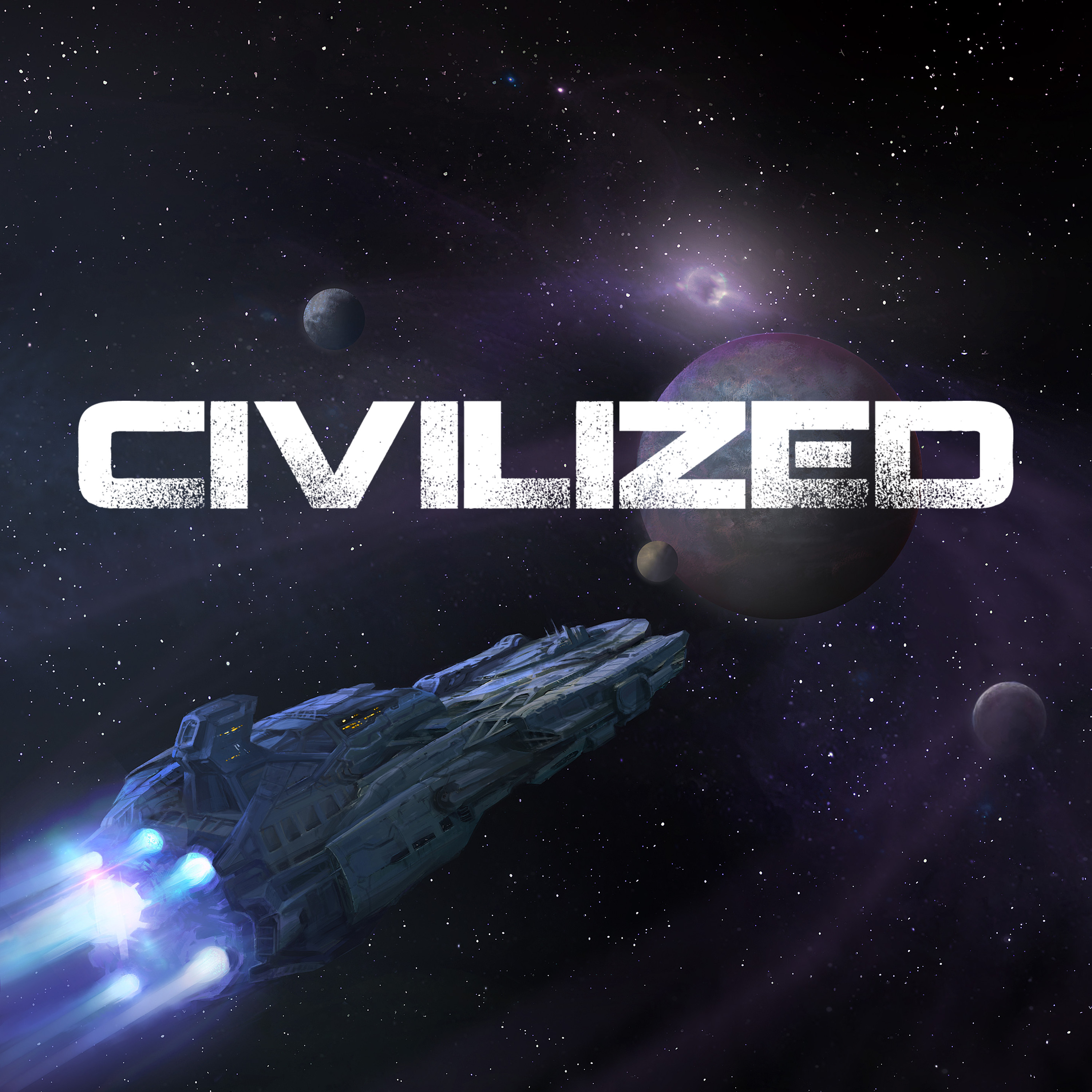 Civilized An Improvised Dark Comedy Sci Fi Podcast Audio Fiction