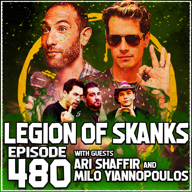 Epiode #480 - Freak Bullies - Milo Yiannopolous & Ari Shaffir