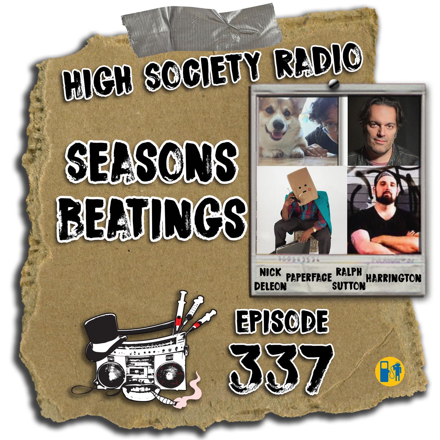 HSR 12/20/18 Seasons Beatings (Paperface, Nick De Leon, Ralph Sutton, Mike Harrington)