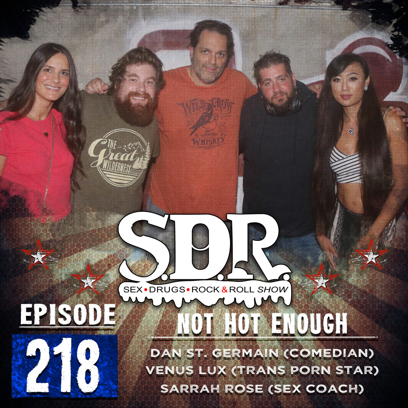 Dan St.Germain, Venus Lux & Sarrah Rose (Comedian, Trans Pornstar & Sex Coach) - Not Hot Enough