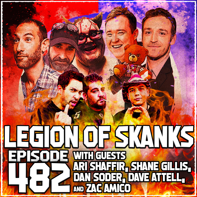 Episode #482 - Election Night - Ari Shaffir, Dave Attell, Dan Soder, Shane Gillis, and Zac Amico