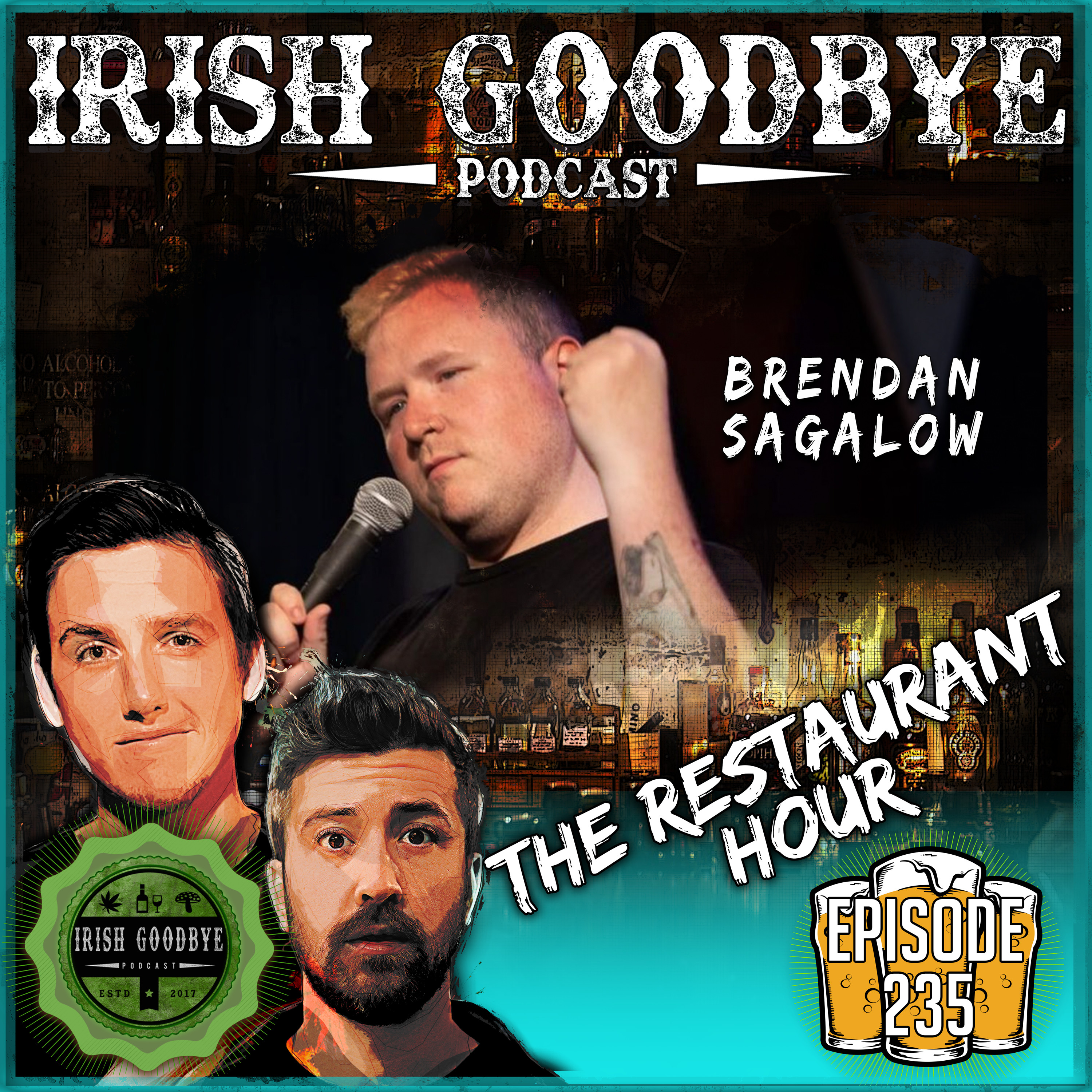 Episode #235 - The Restaurant Hour (with Brendan Sagalow)