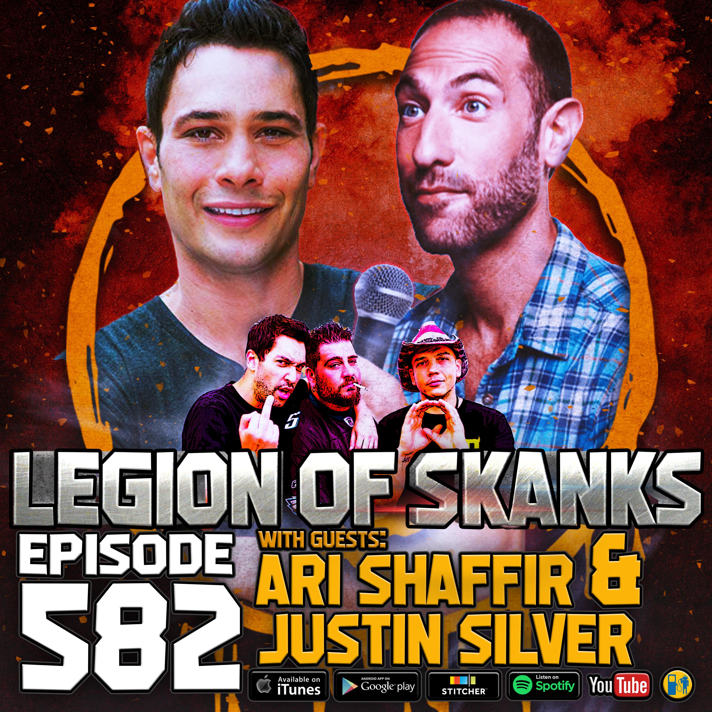 Episode #582 - Tw*tburger - Ari Shaffir & Justin Silver