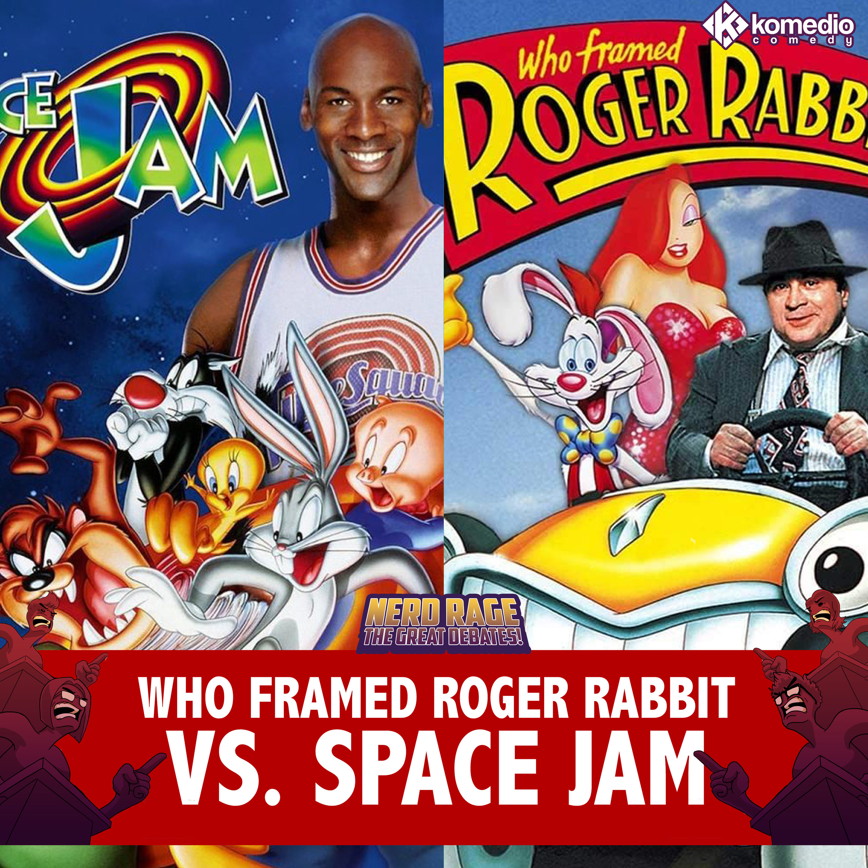 A Toon-Up Fight: Who Framed Roger Rabbit vs. Space Jam!