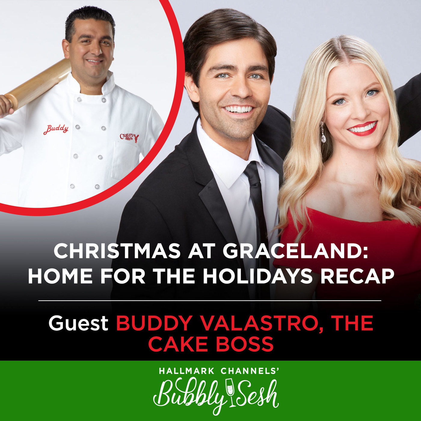 Christmas at Graceland: Home for the Holidays with The Cake Boss, Buddy Valastro
