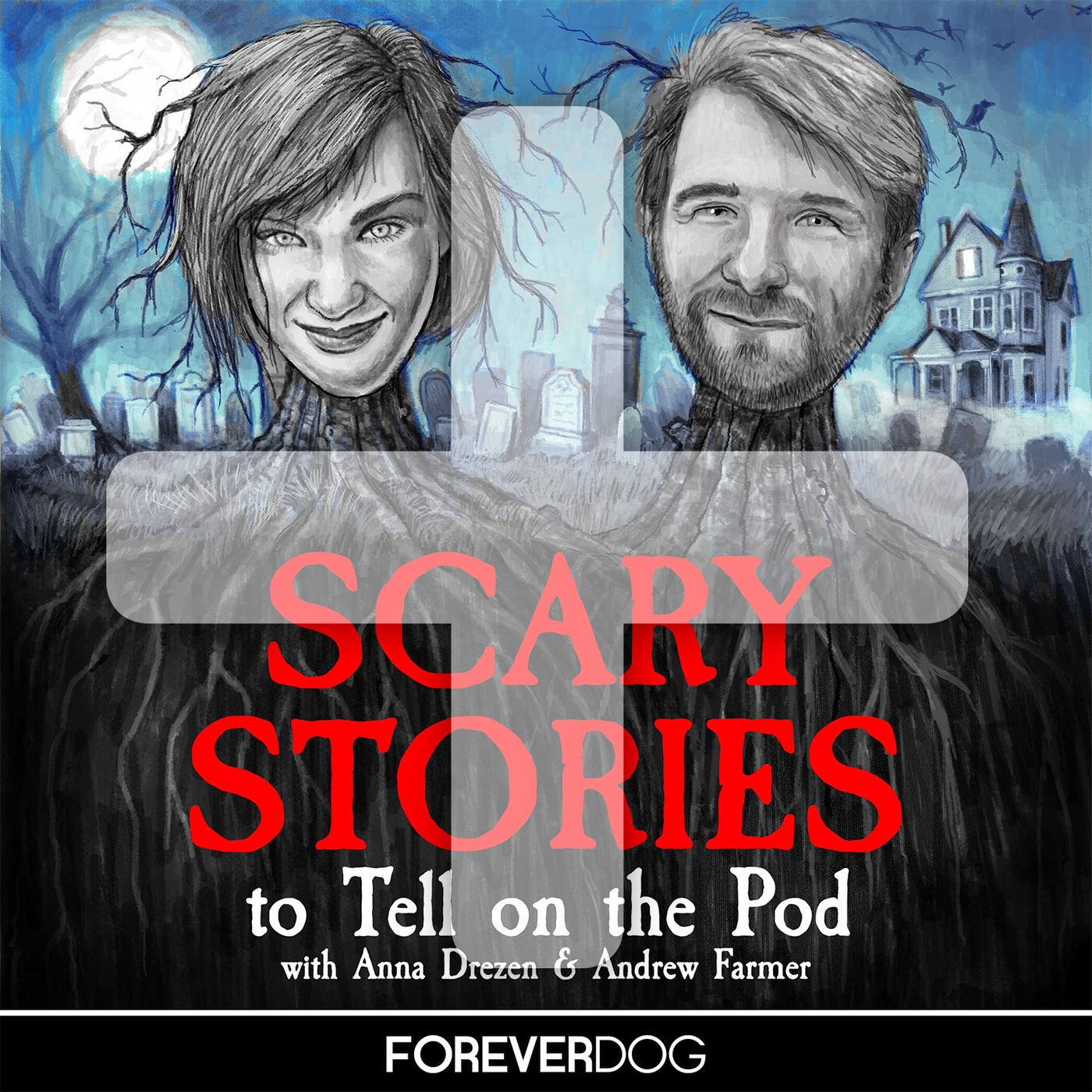 Scary Stories To Tell On The Pod PLUS podcast tile