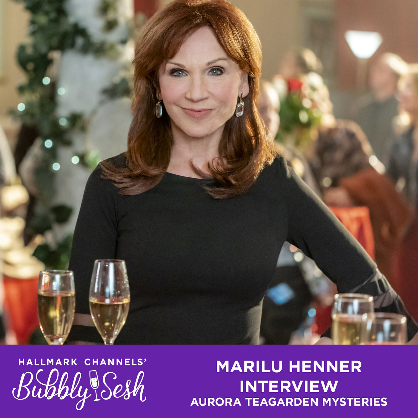 Marilu Henner Interview, Aurora Teagarden Mysteries: Heist and Seek