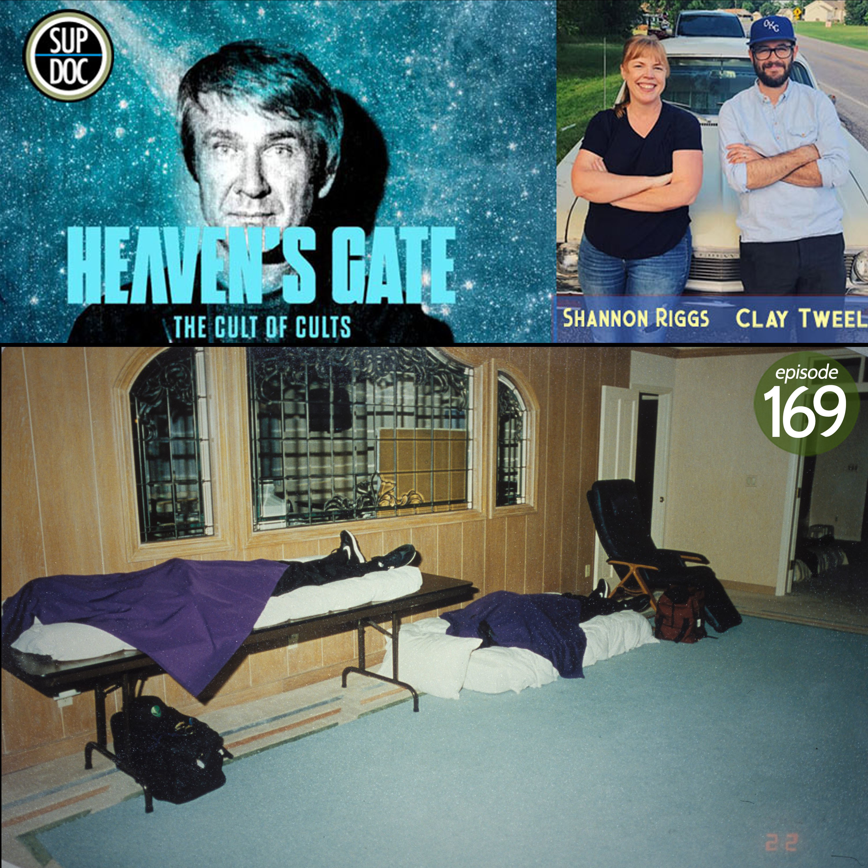 HEAVEN'S GATE: THE CULT OF CULTS director Clay Tweel and producer Shannon Riggs