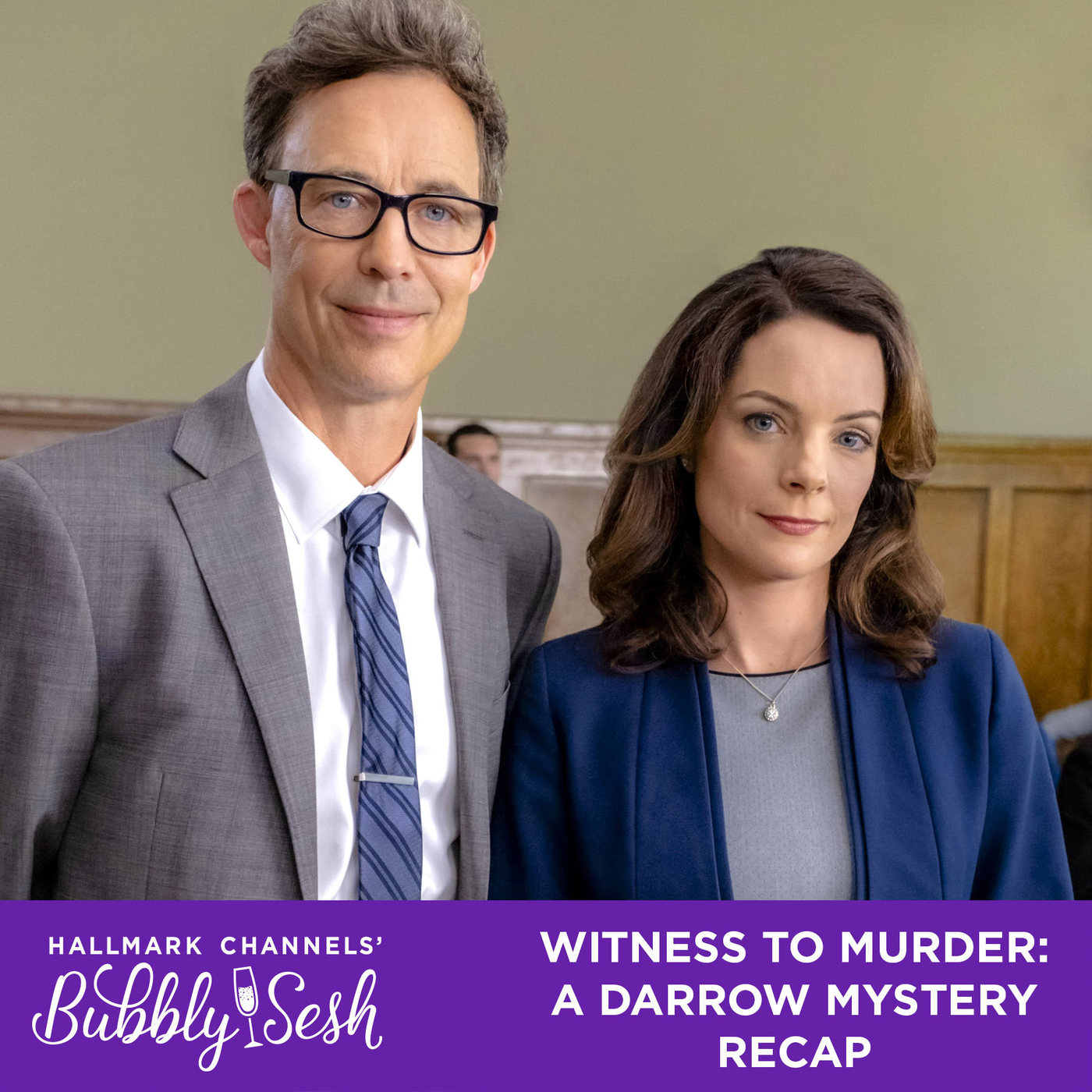 Witness to Murder: A Darrow Mystery Recap | Hallmark Channel's Bubbly Sesh