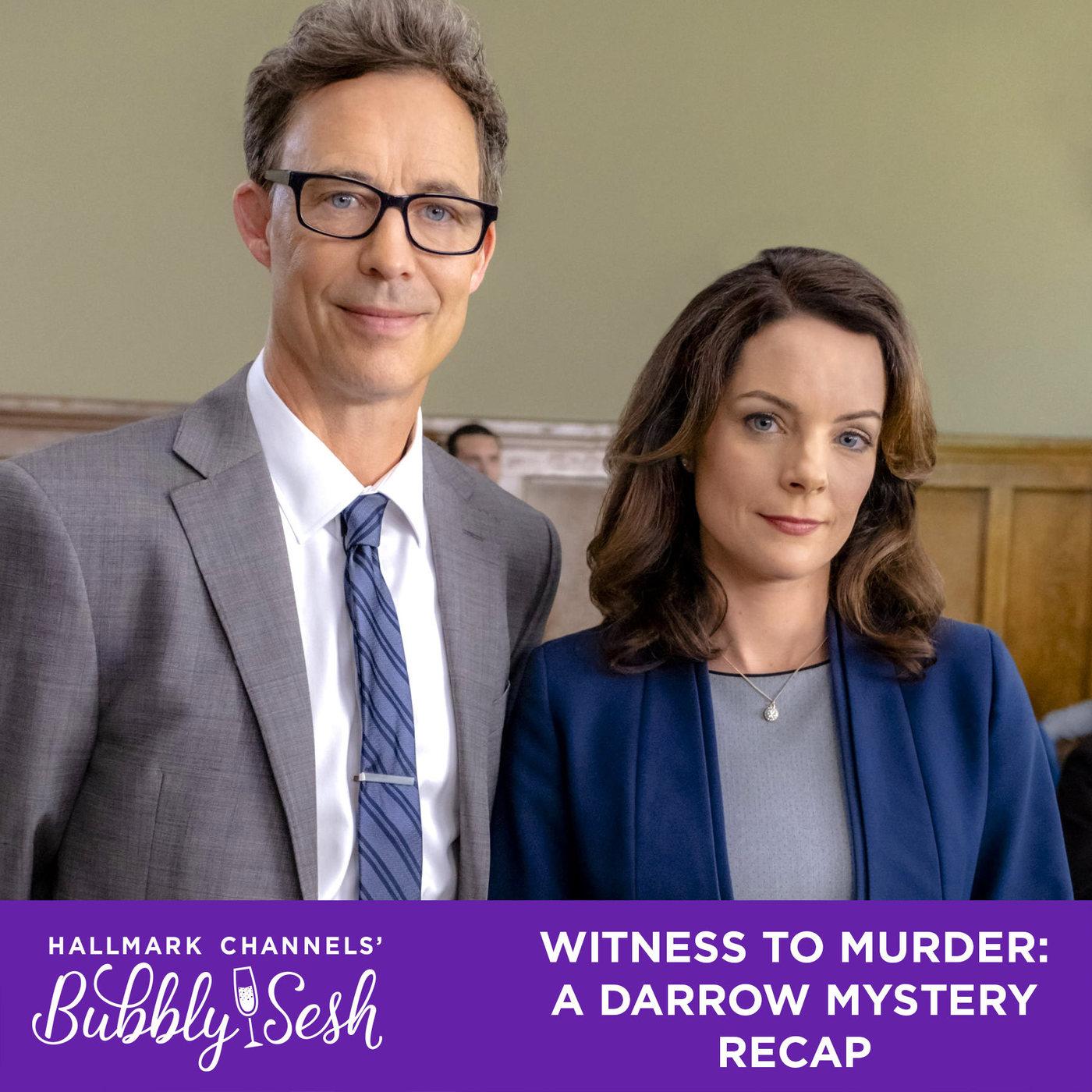 Witness to Murder: A Darrow Mystery Recap | Hallmark Channel's Bubbly Sesh