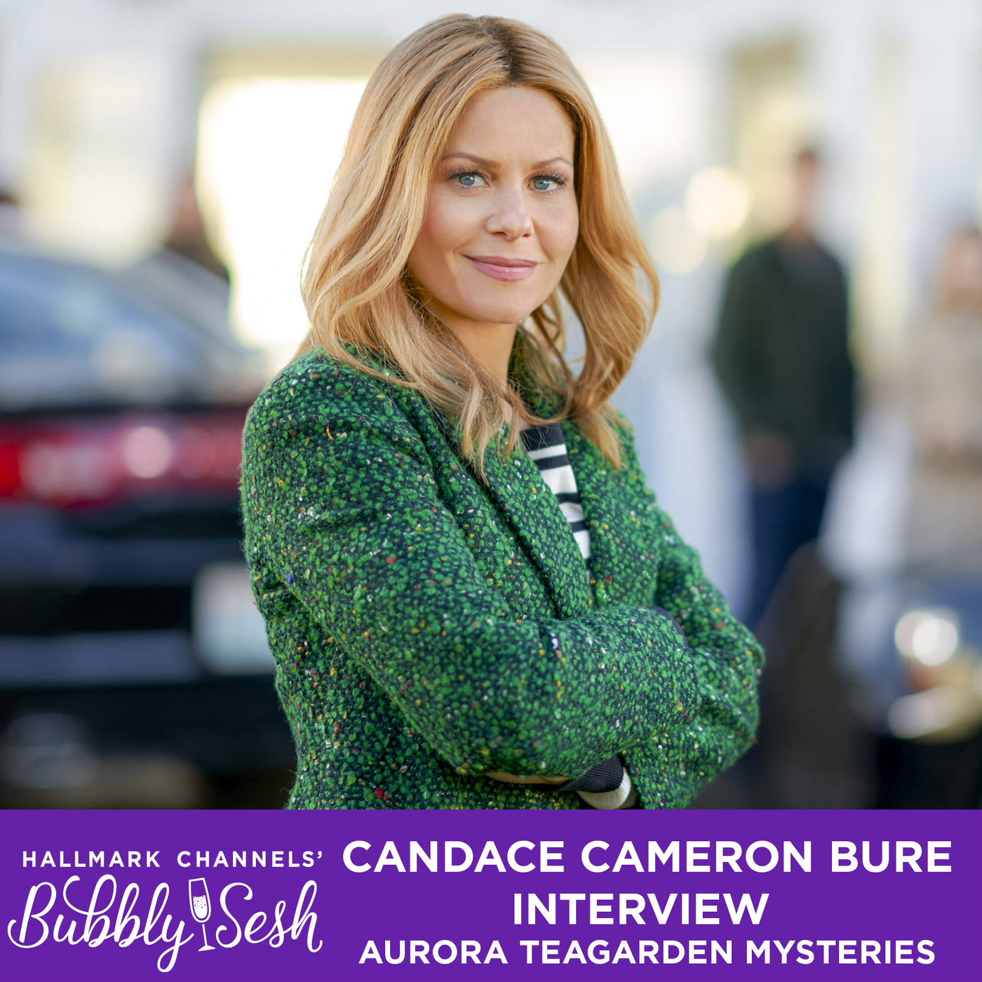 Aurora Teagarden Mysteries: Candace Cameron Bure Interview