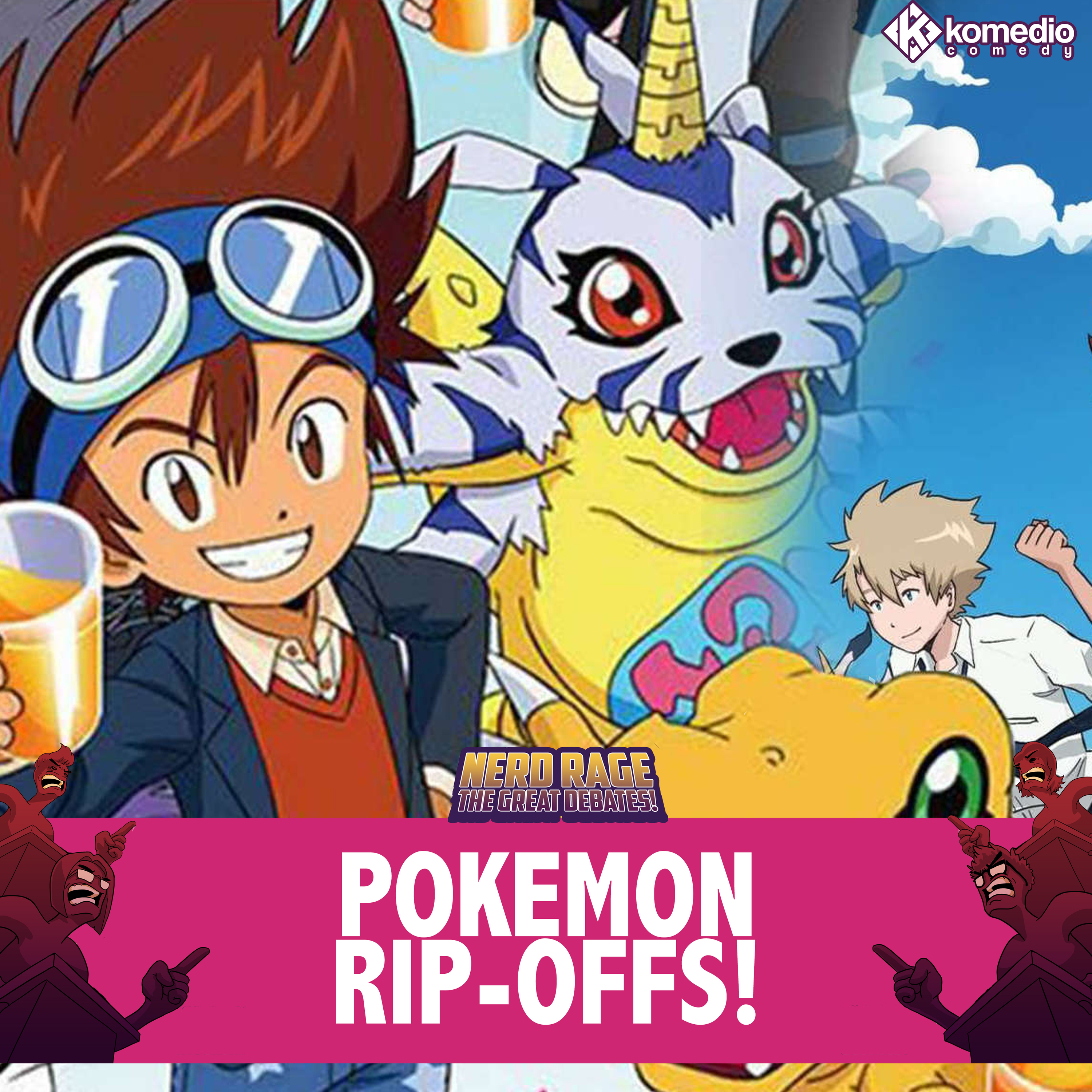 Balls to the Wall: Pokemon Rip-Offs!
